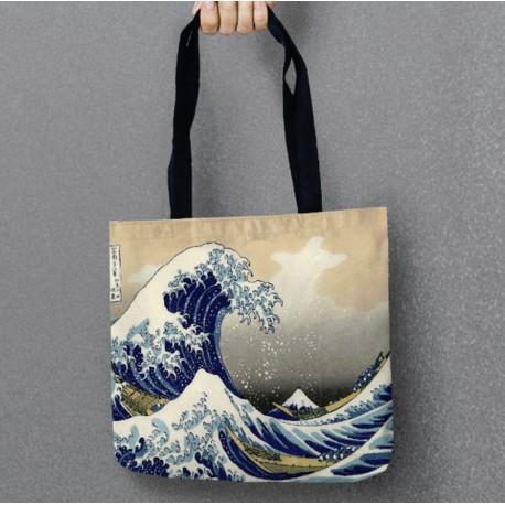 Bolsa ola Hokusai