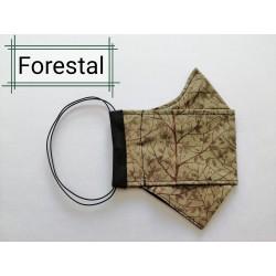 MASCARILLA ORIGAMI FORESTAL 2